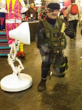 Metal Gear Solid 4 Old Snake Clone with LUXO by Gollum-net
