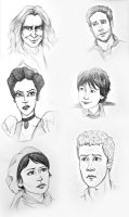 Once Upon a Time Characters by alifsu17