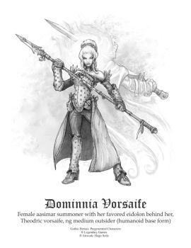 Dominnia Vorsaife by butterfrog