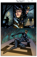 Batman: Arkham Unhinged Colors page 03 by GiuliaPriori