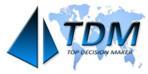 TOP DECISION MAKER LOGO by coolbits1