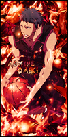 Aomine signature by ksop