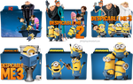 Despicable Me Series Folder Icon Pack by jithinjohny