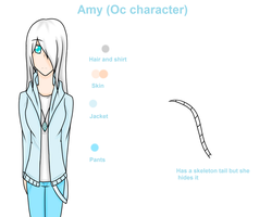 Amy (Oc character) by angeliachristie04