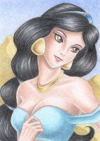 ACEO Jasmine by Rooro22