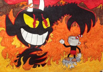 CUPHEAD - One Hell Of A Time! by Cooldud111