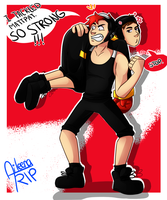 Mark Tackled MattPat(?) by aileenarip