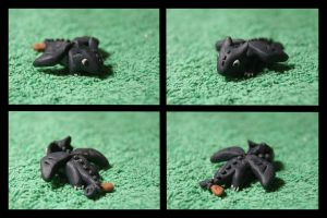 Fimo Toothless by inu-chan-free
