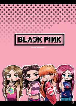 BLACKPINK -As If It's Your Last- BUY in RED BUBBLE by Rebeca-Honney