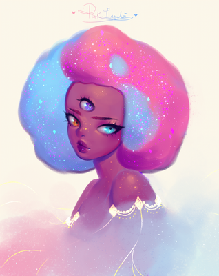 Cotton Candy Garnet by pinkincubi
