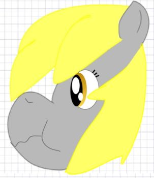 Derpy (first vector) by DerpyHooves117