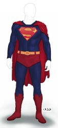 Superman Reboot Suit by Bunk2