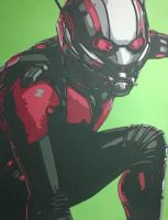 Antman by Papergizmo