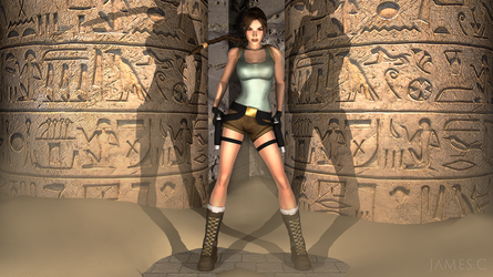 Lara Croft, Tomb Raider by James--C
