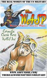 The WASP Cornelia Clark Fort Trading Card by ValerieFinnigan