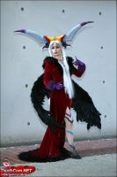 Old School Ultimecia by pixiekitty