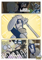 the Feathers Armory: page 11 (english) by StarFaky
