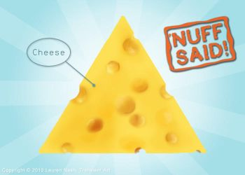 My Personal Cheese Pyramid by TransientArt