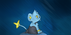 Sad Shinx by ForgottenRobot