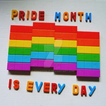 Pride month never ends by engineerJR
