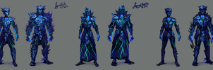 Sirenic Armours Variants by RS-LegendArts