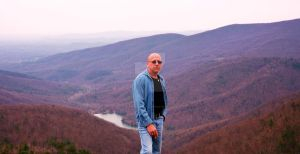 Me in the Bludridge Mountains by ArtieWallace