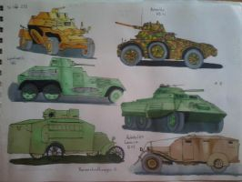 Armored cars 1 by ArtistNumber3