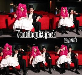 ventriloquist pack by Dingelientje-stock