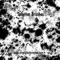 Splatter Brushes by xvalid