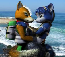 Fox Love by DarkStory