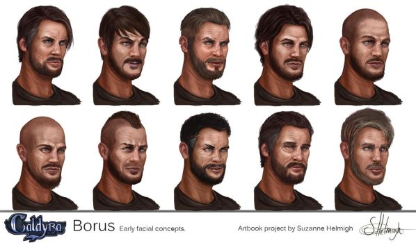 Borus portrait Lineup by Suzanne-Helmigh