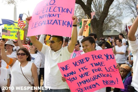 Immigration Reform March IV by Wespennest