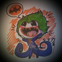 [lego batman] chibi lego Joker   by superfrancy77