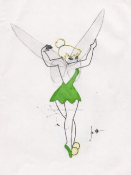 Tinkerbell by Wonkytitters
