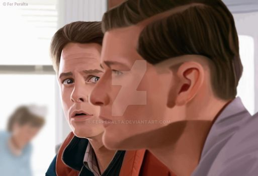 The McFly (Back to the Future) by FerPeralta