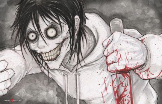 Jeff The Killer Creepypasta by ChrisOzFulton