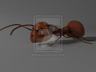 3D Ant by Cathrain