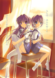 Kyou and Ryou by MistaYoH