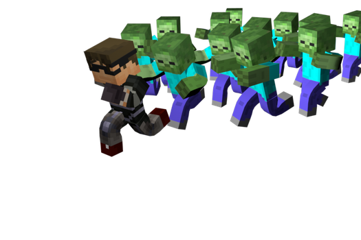 ZOMBIES! by SkyDoesMinecraft