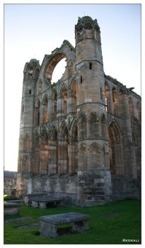 Elgin Cathedral II by redkali