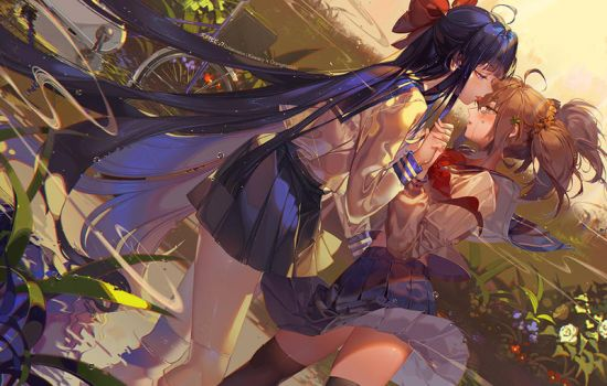 Stay with me by kawacy