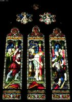 St Mary's Cathedral - Window 3 by JohnK222