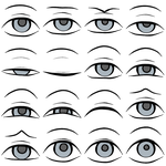 Eye Sprites by FireCatRich