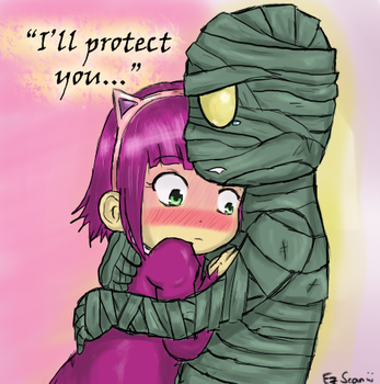 I'll Protect You by xiseanhirosex