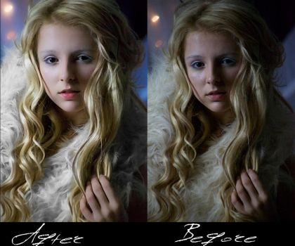 A Before and After of my editing. by Photographer5D