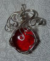 Wire pendant 195 by Kimantha333