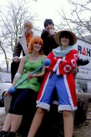 One Piece Crew by Lucy-chan90