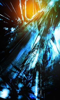 Sci-fi abstract 02 by Voliage