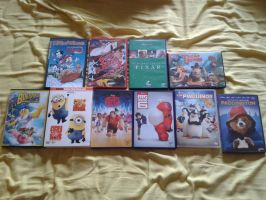 DVDs I got in Spain by jakelsm