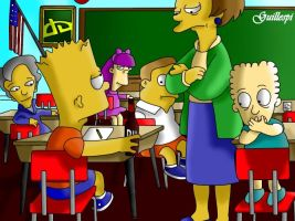 Bart Simpsons by guilleapi